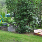 Ogród z miejscem do grillowania dla wszystkich pokoi